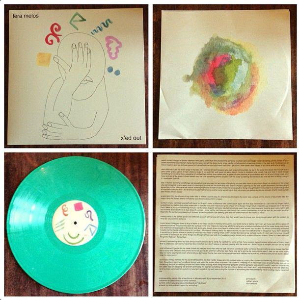 Tera Melos X Ed Out Limited To 1000 On Mint Green Lp
